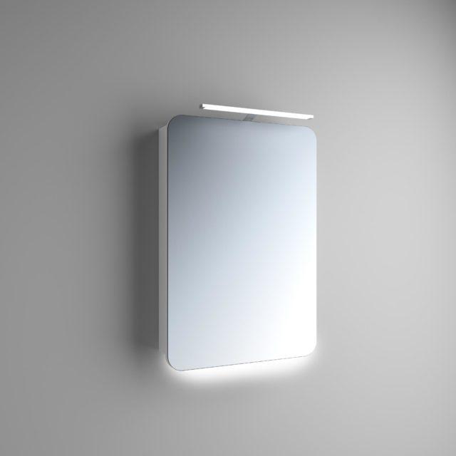 Зеркальный Шкаф в Ванную Комнату Навесной: Адель 1 | Rodecs.com.ua